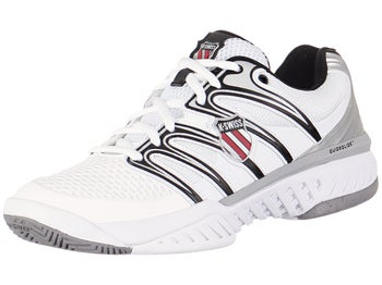 KSwiss BigShot White/Black Men's Shoes