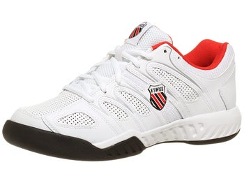 KSwiss Calabasas White/Red Men's Shoes