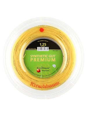 Kirschbaum Premium Syn. Gut 17 660' String Reel Natural