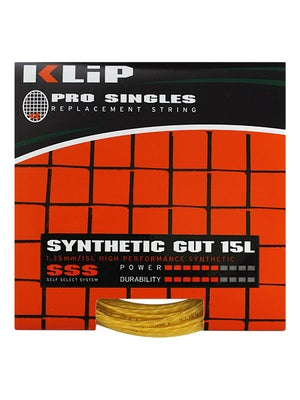KLIP Synthetic Gut 15L Gold String