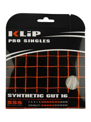 KLIP Synthetic Gut 16 String White