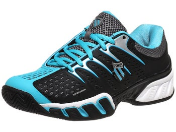 KSwiss BigShot II Black/Blue Women's Shoes