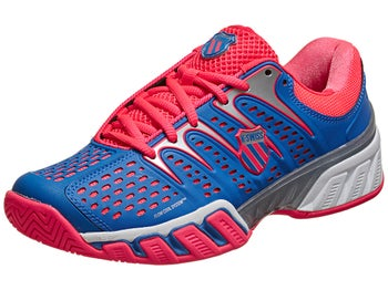 KSwiss BigShot II Blue/Pink Women's Shoes
