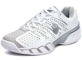 KSwiss BigShot II White/Grey Women's Shoes