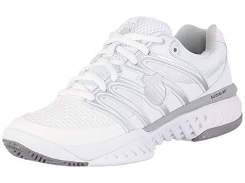 KSwiss BigShot White/Silver Women's Shoes