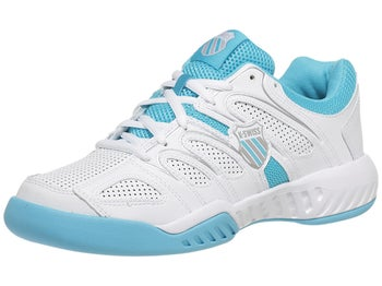 KSwiss Calabasas White/Blue Women's Shoes
