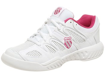 KSwiss Calabasas White/Magenta Women's Shoes