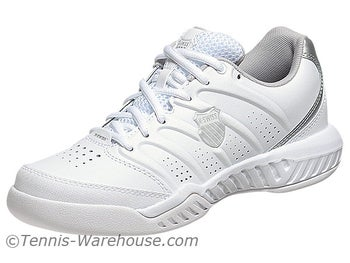 KSwiss Ultrascendor II White/Silver Women's Shoes