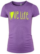 LoveAll Girl's Love Life T-Shirt