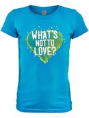 LoveAll Girl's What's Not To Love T-Shirt