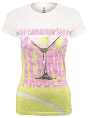 LoveAll Women's Tennis Problem Tee