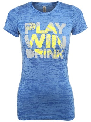 LoveAll Women's Play. Win. Drink. Tee