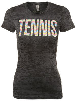 LoveAll Women's Tennis Chevron Tee