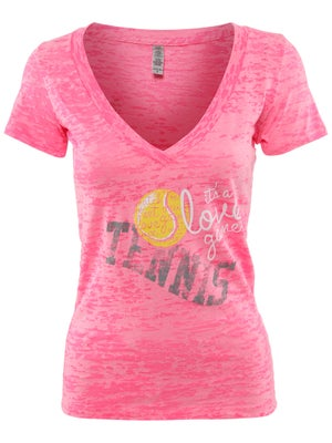 LoveAll Women's Tennis Love Game Tee