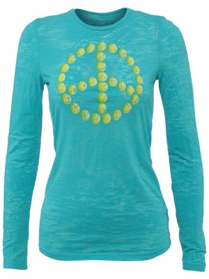 LoveAll Women's Tennis Peace LS Top
