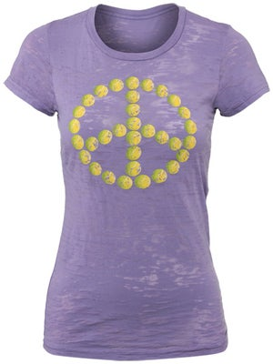 LoveAll Women's Tennis Peace Tee