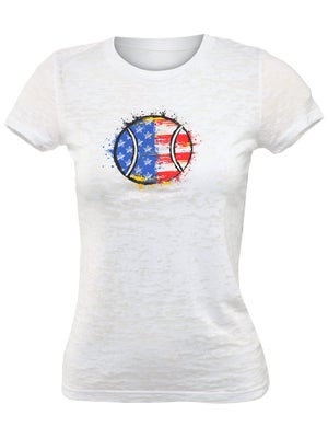 LoveAll Women's Tennis USA Tee