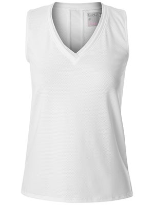 83e3cd0f9ac72 Product image of Lucky in Love Women s Core Relaxed Tank - White