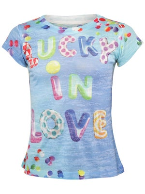 Lucky In Love Girl's Lucky Balloon Tee