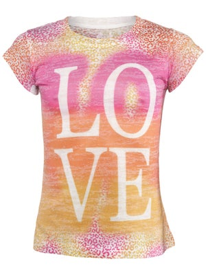 Lucky In Love Girl's Love Tee