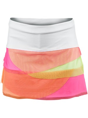 Lucky In Love Girl's Mesh Scallop Skort