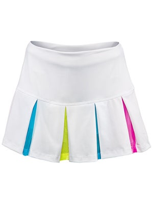Lucky In Love Girl's Mesh Pleat Skort