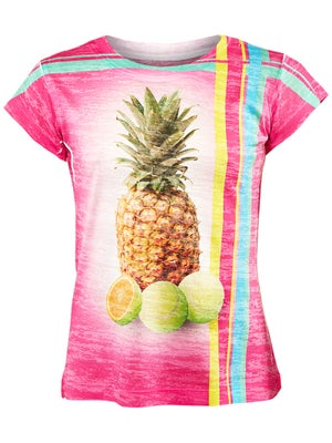 Lucky In Love Girl's Pinapple Tee