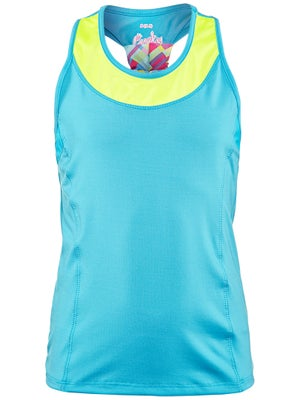 Lucky In Love Girl's Racerback Tank