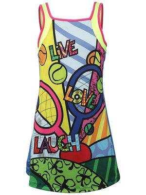 Lucky In Love Girl's Tennis Pop Dress