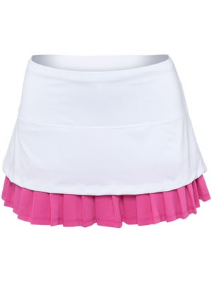 Lucky in Love Women's Brazil Layer Pleat Skort