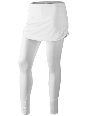 69be096e227d2f Product image of Lucky In Love Women's Core Ruched Skirt Legging - White