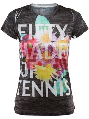 Lucky in Love Women's Shades of Tennis Tee