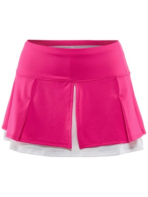 Lucky In Love Women's Lace Pleat Layer Skort