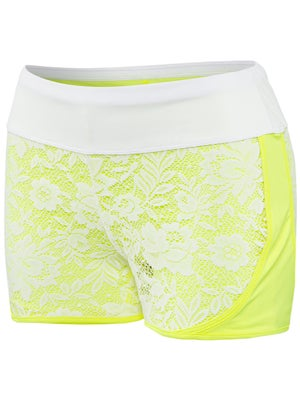 Lucky In Love Women's Spring Lace Layered Short