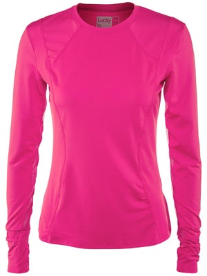Lucky In Love Women's Core Long Sleeve Top - Pink