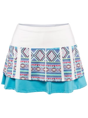 Lucky In Love Women's Mayan Tall Border Skort