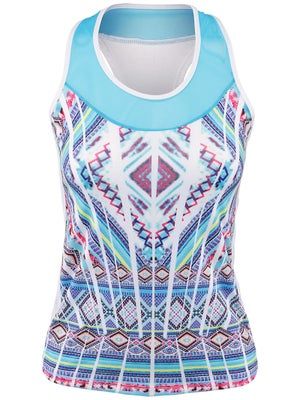Lucky In Love Women's Mayan Racer Tank
