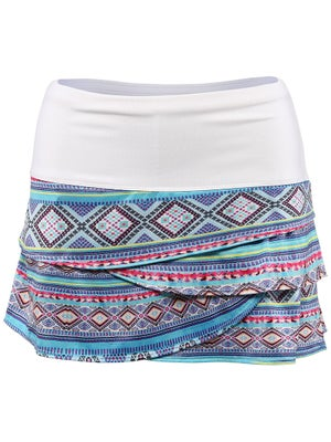 Lucky In Love Women's Mayan Scallop Skort