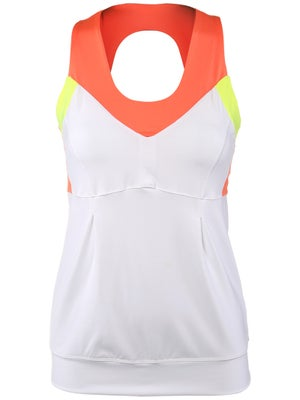 Lucky in Love Women's Petal Color Block Tank