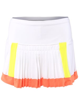 Lucky in Love Women's Petal Pleat Skort