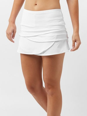 Lucky in Love Women's Core Scallop Skort White