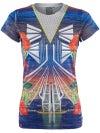 Lucky in Love Womens Tennis City T-Shirt