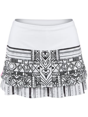 Lucky in Love Women's Tribal Graphic Skort