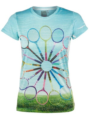 Lucky In Love Women's Vintage Racquet Tee