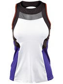 Lucky in Love Womens World Color Block Tank
