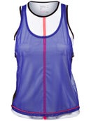 Lucky in Love Womens World Mesh Tank
