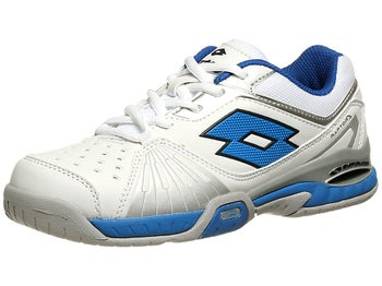 Lotto Raptor Ultra IV White/Blue Junior Shoes