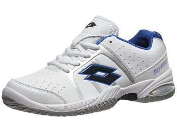 Lotto T-Tour II White/Blue Junior Shoe