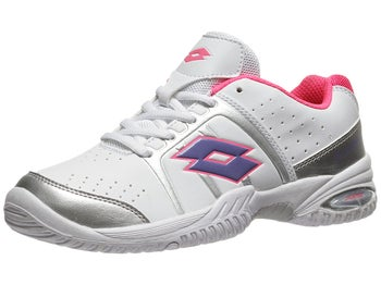Lotto T-Tour II White/Rose Junior Shoe