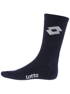 Lotto Logo Crew Socks Deep Navy